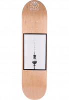 Salut Skateboards Skateboard Decks Skateboarding Will Not Be Televised Berlin yellow Vorderansicht