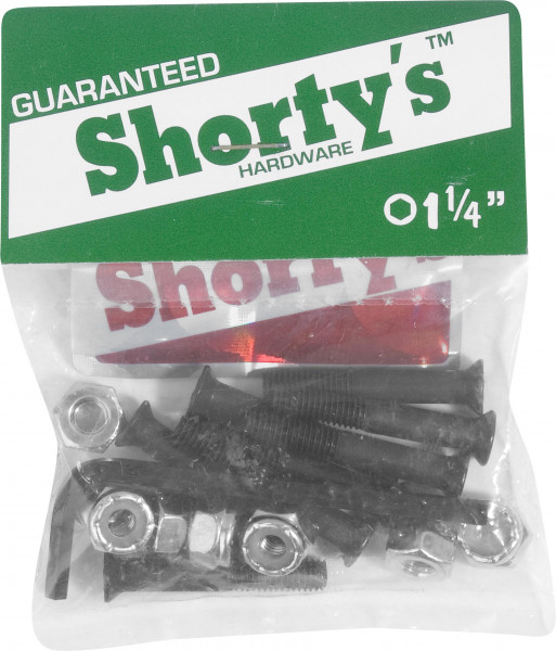 """Shortys Montagesätze 1-1/4""""-Inbus no color Vorderansicht"""