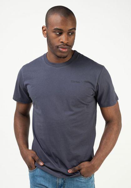 Carhartt WIP T-Shirts Script OG rum-black vorderansicht 0397478