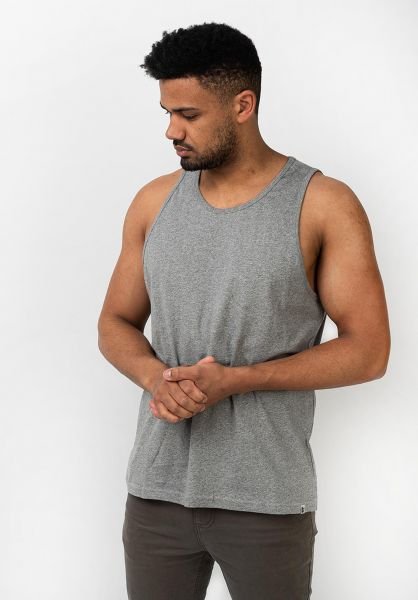 Element Tank-Tops Basic greyheather vorderansicht 0137829