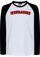 Fourasses-Longsleeves-TheFours-black-white-Vorderansicht