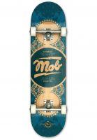 MOB-Skateboards Skateboard komplett Gold Label Full blue Vorderansicht