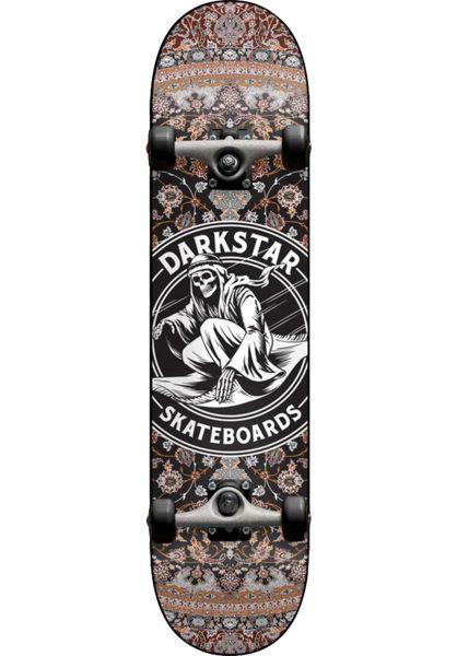 Darkstar Skateboard komplett Magic Carpet black-brown vorderansicht 0162039