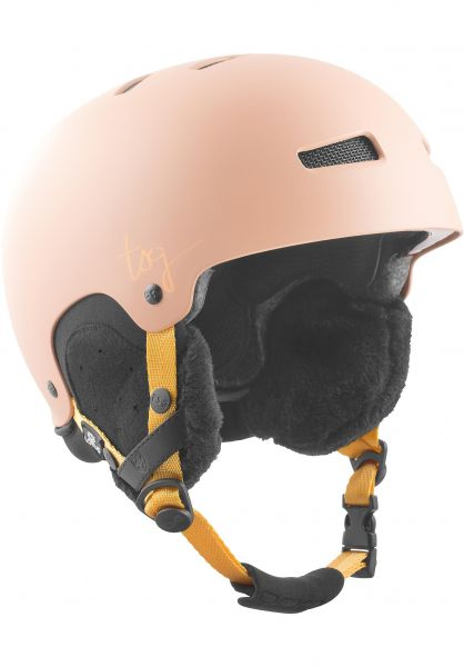 TSG Snowboardhelme Lotus Solid Color satin dark peach Vorderansicht 0750092