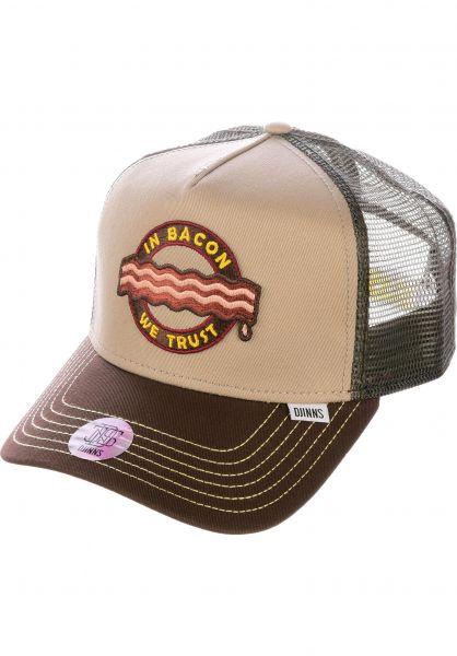 Djinns Caps HFT Cap Food Bacon khaki vorderansicht 0566209