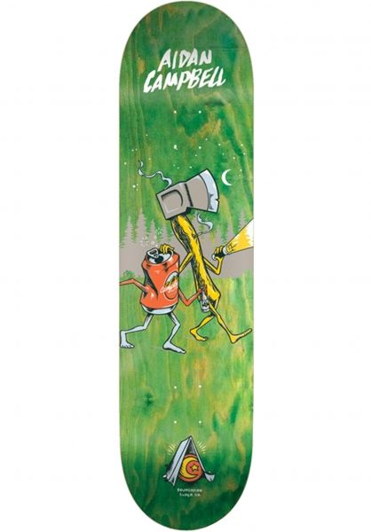Foundation Skateboard Decks Campbell Campin´ natural vorderansicht 0262505