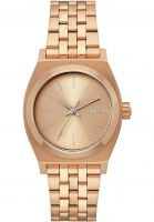 Nixon Uhren Medium Time Teller all-rose-gold Vorderansicht