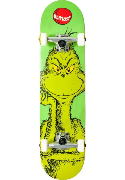 Almost Skateboard komplett x Grinch FP green vorderansicht 0162151