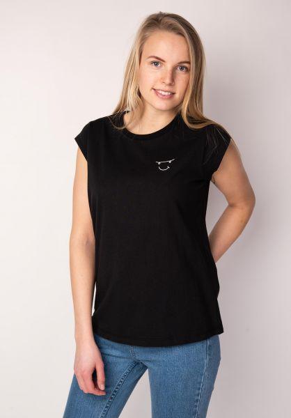 TITUS T-Shirts Helena black vorderansicht 0398491
