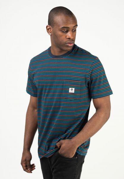 Element T-Shirts Basic Multi eclipsenavy vorderansicht 0323367