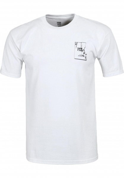 Lowcard T-Shirts Jokers Wild (by Todd Bratrud) white Vorderansicht