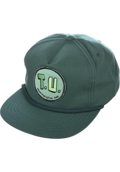 Transportation Unit Caps Classic T.U. Snapback green vorderansicht 0565496