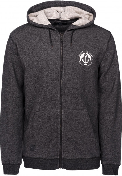 Makia Hoodies Harbour darkgrey Vorderansicht