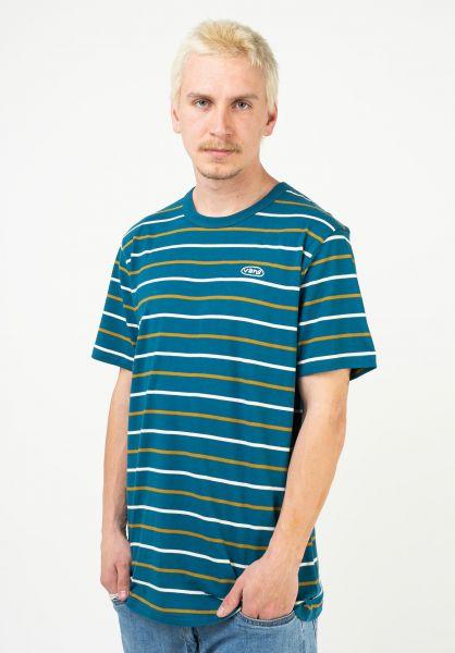 Vans T-Shirts Color Multipier moroccanblue vorderansicht 0323456