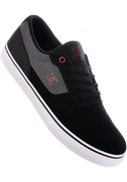 DC Shoes Alle Schuhe Switch S black-charcoal Vorderansicht