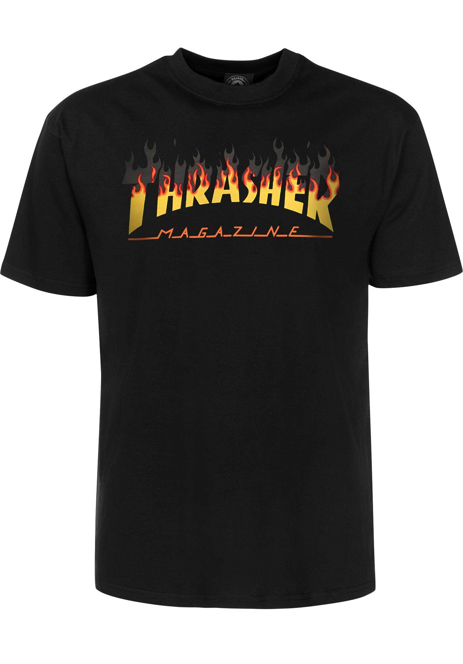 b269be5433 BBQ Thrasher T-Shirts in black for Men | Titus
