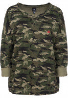Element Sweatshirts und Pullover Crown stress-camo Vorderansicht