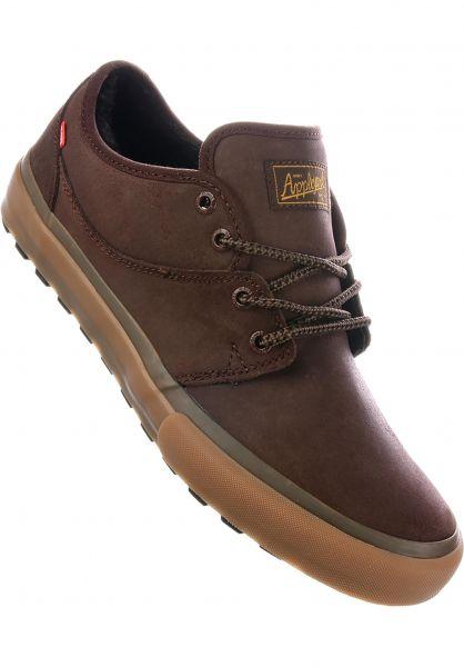 Globe Alle Schuhe Mahalo Fur chestnut-gum Vorderansicht