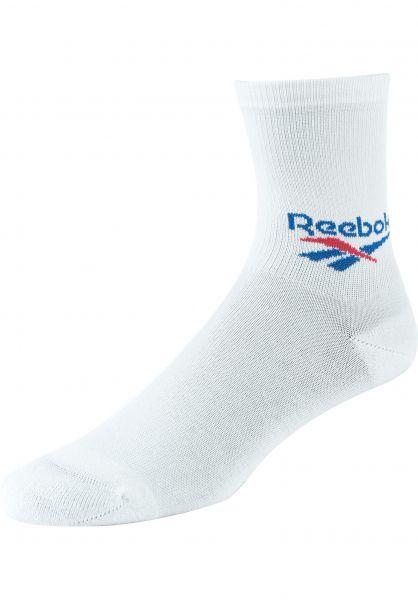 Reebok Socken CL FO Crew Socks 3Pack white vorderansicht 0631871