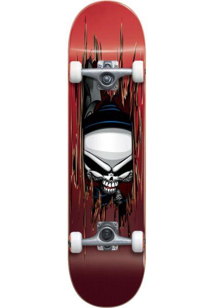 Blind Skateboard komplett Reaper Axe red vorderansicht 0161978