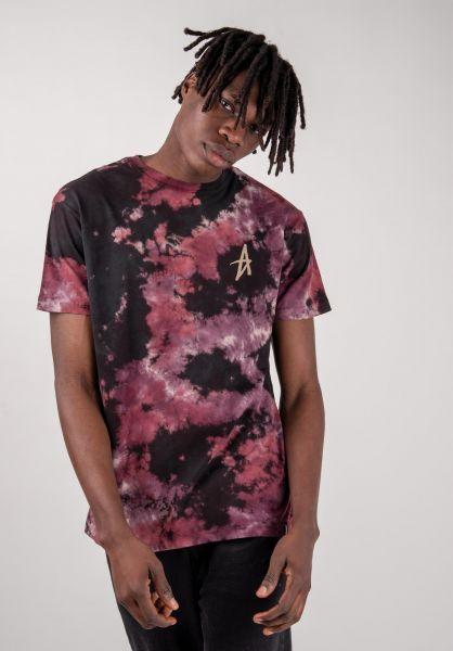 Altamont T-Shirts Dark Days black-purple vorderansicht 0383224