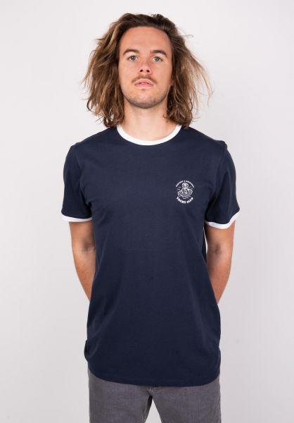 Forvert T-Shirts Lago navy vorderansicht 0398621