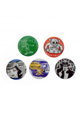 Thrasher Usual-Suspects-Buttons-5er