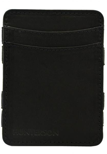 Hunterson Portemonnaie Magic Coin Wallet RFID black vorderansicht 0781047