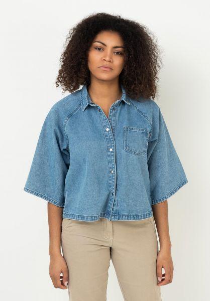 TITUS Hemden kurzarm Liwa blue-bleached vorderansicht 0422935