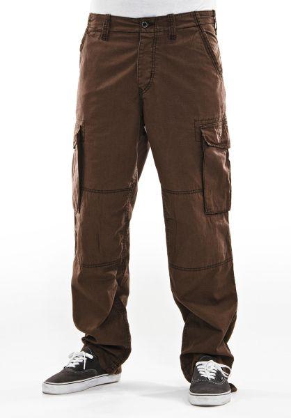 Reell Cargohosen Cargo brown vorderansicht 0520363
