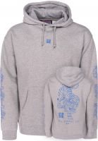 Key Street Hoodies Ornamental heathergrey vorderansicht 0445191
