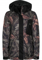 Light-Snowboardjacken-Bepop-rainforest-black-Vorderansicht