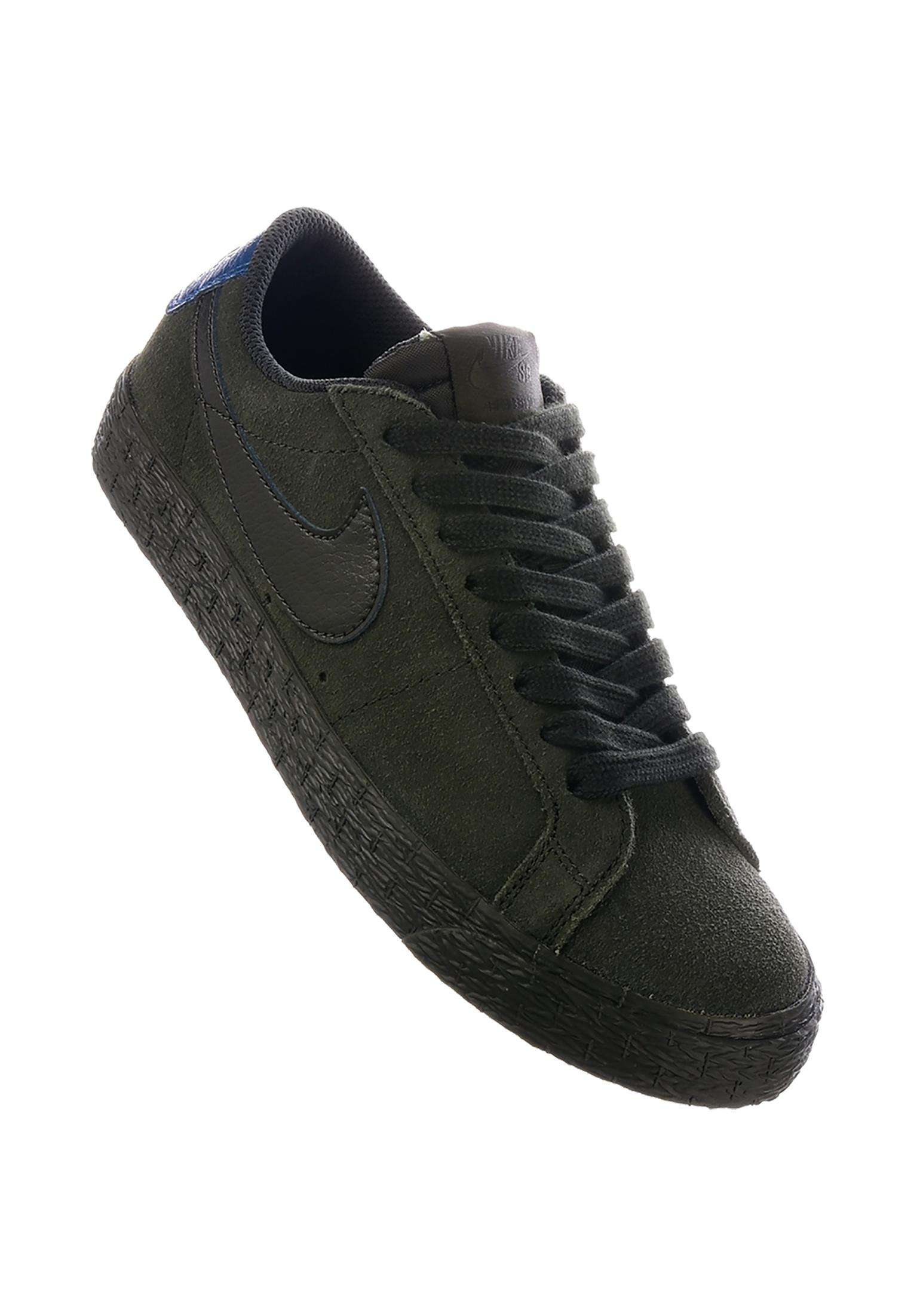 590ad93ec148 Zoom Blazer Low Nike SB All Shoes in sequoia-sequoia-blueforce for Women