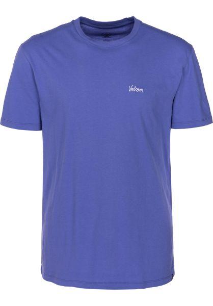 Volcom T-Shirts Impression darkpurple vorderansicht 0399840
