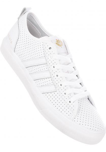 more photos e539f b817e adidas-skateboarding Alle Schuhe Matchcourt Magenta white-gold-gum  Vorderansicht