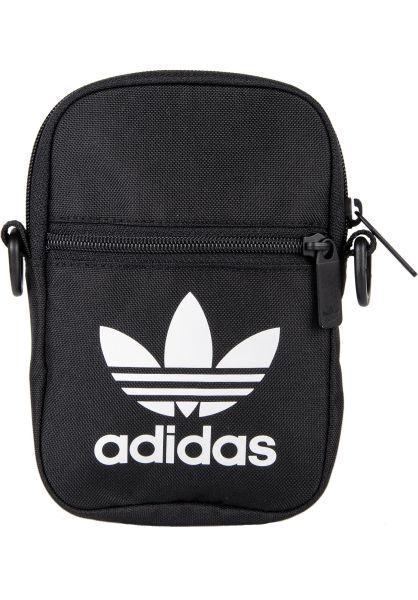 adidas Taschen Festival Bag Trefoil black vorderansicht 0891583