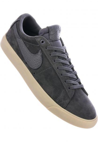 online store dd28f ff7bc Nike SB Alle Schuhe Zoom Blazer Low x Anti Hero QS darkgrey-gold  Vorderansicht