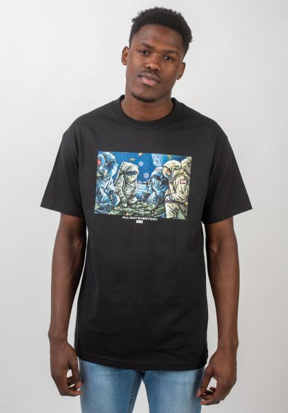 DGK T-Shirts Space Games black vorderansicht 0320690