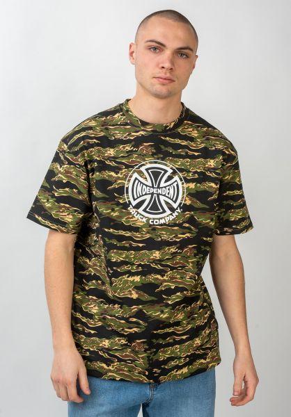 Independent T-Shirts Truck Co tigercamo vorderansicht 0370464