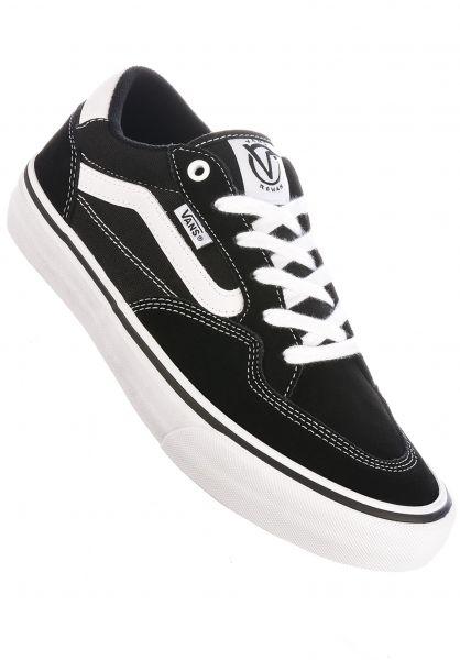 Vans Alle Schuhe Rowan Pro black-truewhite vorderansicht 0604757