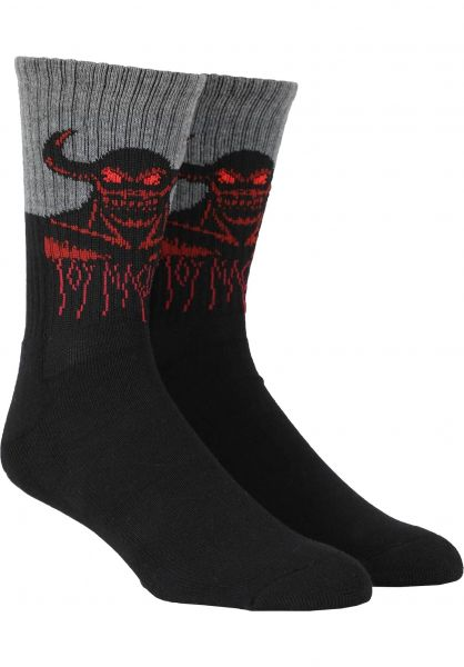 Toy-Machine Socken Hell Monster Crew multicolored vorderansicht 0632048