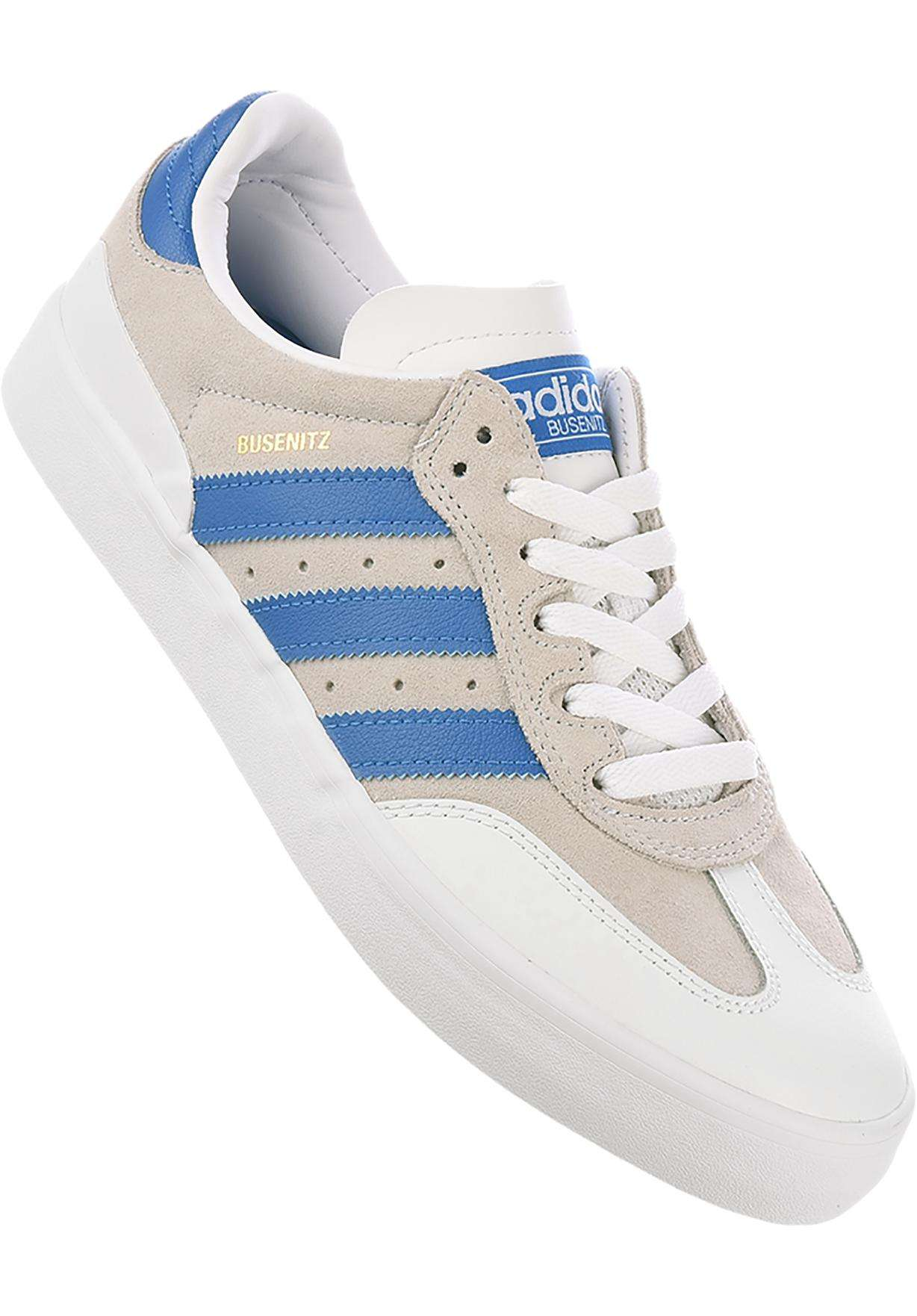 brand new 34d38 39305 Busenitz Vulc RX adidas-skateboarding All Shoes in crystalwhite-bluebird  for Men   Titus