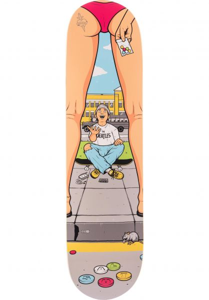 Salut Skateboards Skateboard Decks Bad Bitches Sexy Sadie multicolored Vorderansicht