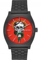 Nixon Uhren Time Teller x Bones Brigade black-mcgill Vorderansicht