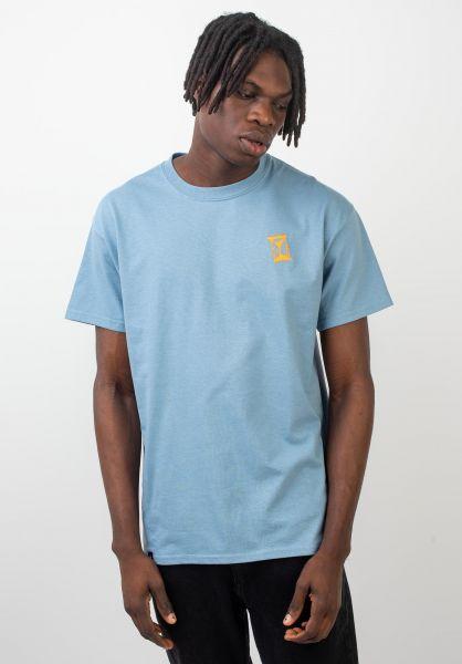 Sour Skateboards T-Shirts Vintage stoneblue vorderansicht 0320322