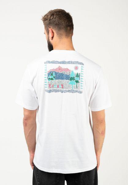 Element T-Shirts Altus opticwhite vorderansicht 0323377
