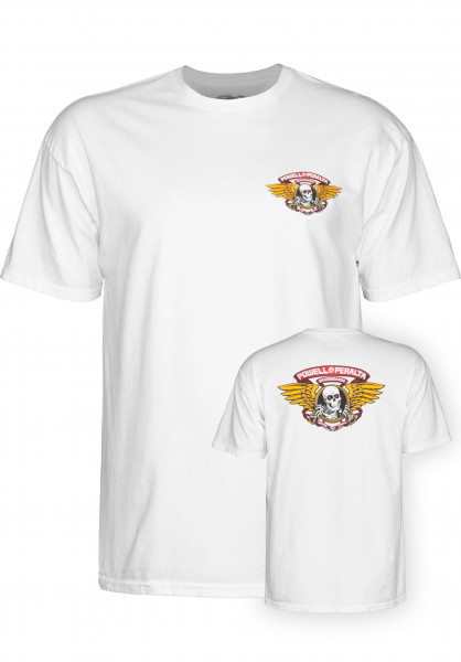 Powell-Peralta T-Shirts Winged Ripper white Vorderansicht