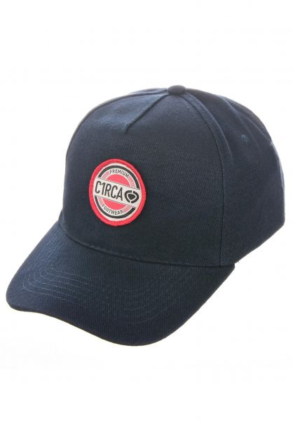 C1RCA Caps Premium Twill navy vorderansicht 0567082