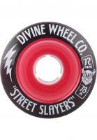 Divine Rollen Street Slayers III 78A red Vorderansicht