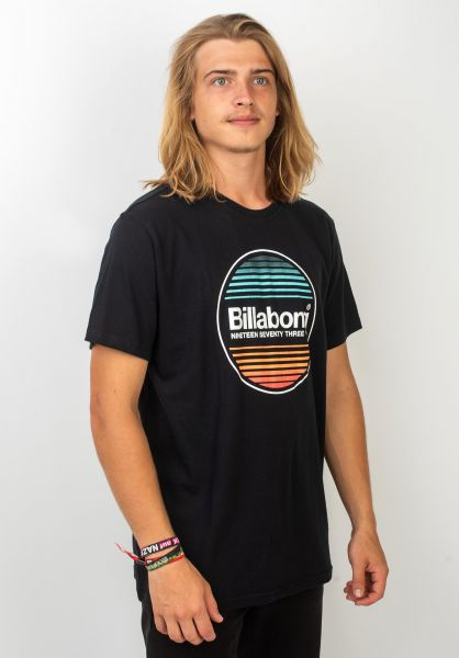Billabong T-Shirts Atlantic black vorderansicht 0320102